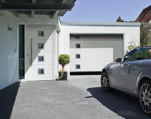 Надежные и стильные ворота по выгодным ценам от компании Hörmann